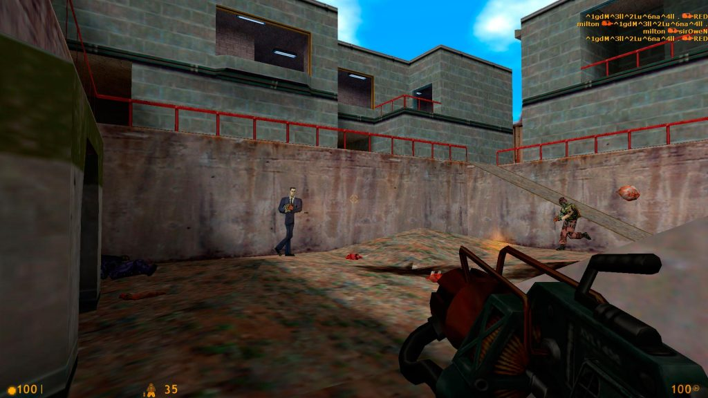 Half Life - Full Screen 1920x1080 (Pantalla dentro del juego)