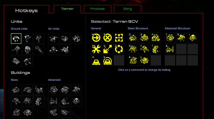 Vuelven las hotkeys en Starcraft 1.19