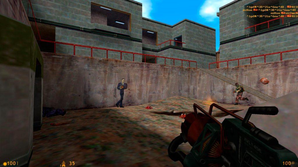 Half Life - Full Screen 1920x1080 (Pantalla dentro del juego)