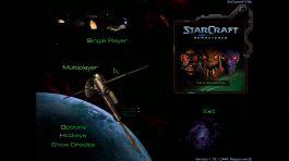Starcraft Anthology - Menu Principal